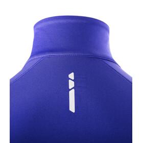 Salomon Trail Runner Warm Mid Shirt Women spectrum blue